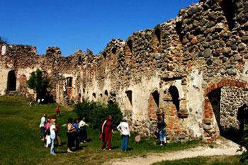Castle in Dobele