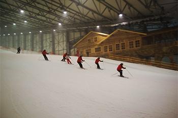 Snow arena in Druskininkai