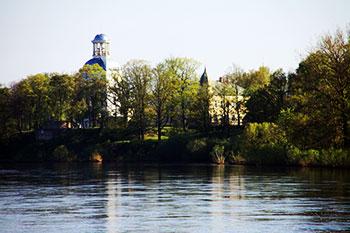 Krustpils castle