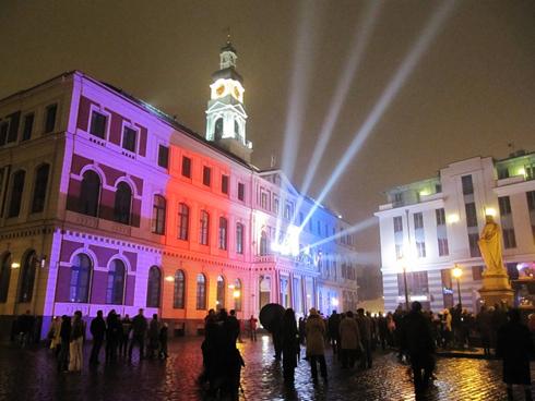 Старо рига staro riga фестиваль света