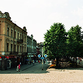 Laisves avenue in Kaunas