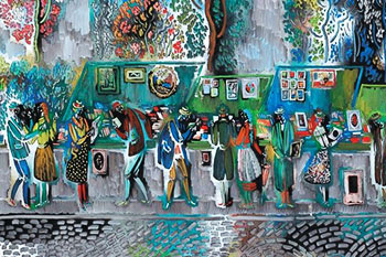 Pranas Domshaitis art gallery in Klaipeda