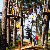 Adventure park in Ventspils