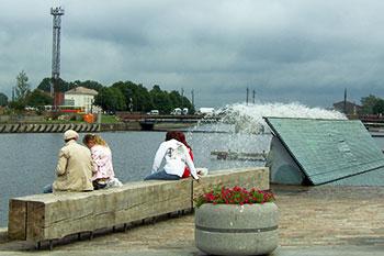 Promenade in Liepaja
