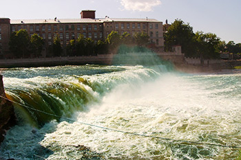 Narva waterfalls