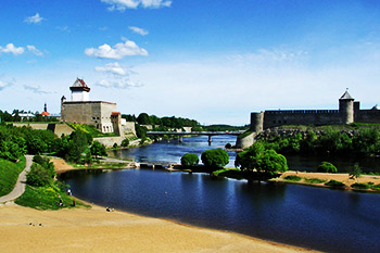 Narva sightseeing what to see how to get to tourism Riga