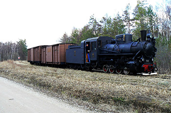 Trains in Parnu