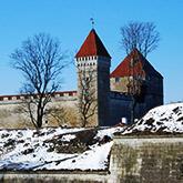 Medieval castle in Estonia