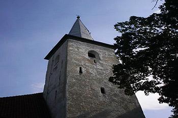 Catherine's Church in Estonia