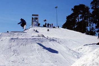 skiing track Lemberga hute