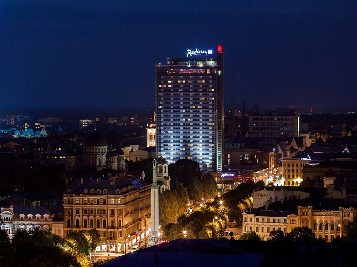 Отели Риги - Radisson Latvia