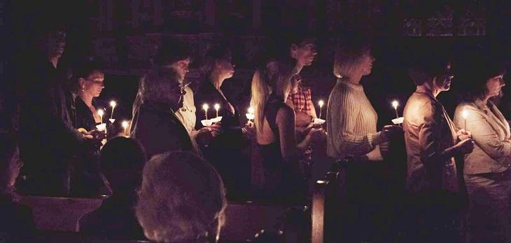 Ночь церквей в Риге, Латвии