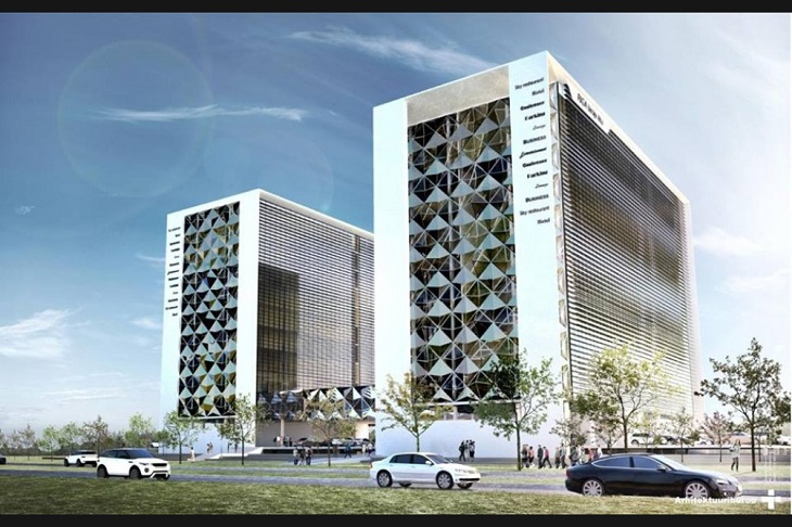 Новый концертный зал и жилой комплекс. Что еще построят в Скансте?