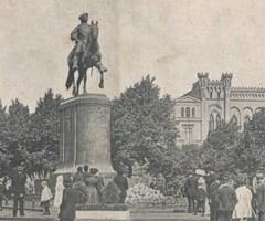 Памятник Петру I в Риге (1910 год)