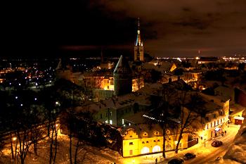 Новый год 2014 в Таллине