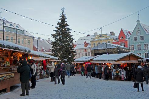 Туры на Новый год в Таллин, Эстонию