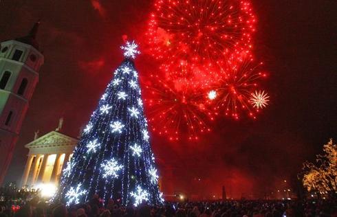 Туры на Новый год в Литву