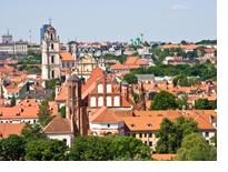 Вильнюс и дух средневековья Старого города