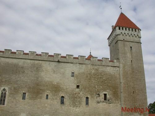 Замок в Курессааре (Эстония)